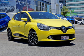 2015 Renault Clio IV B98 Expression Yellow 5 Speed Manual Hatchback.