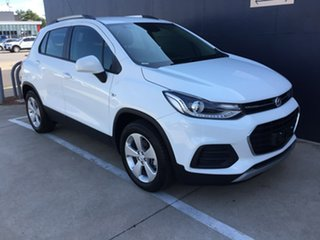2018 Holden Trax TJ MY19 LS White 6 Speed Automatic Wagon.