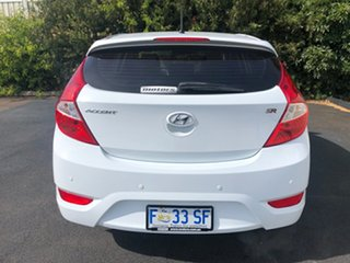 2017 Hyundai Accent RB4 MY17 SR Crystal White 6 Speed Sports Automatic Hatchback