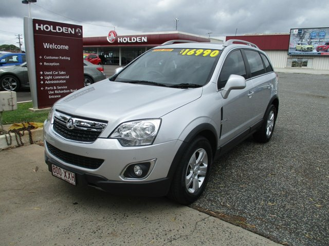 Used Holden Captiva CG Series II 5 AWD North Rockhampton, 2011 Holden Captiva CG Series II 5 AWD Silver 6 Speed Sports Automatic Wagon