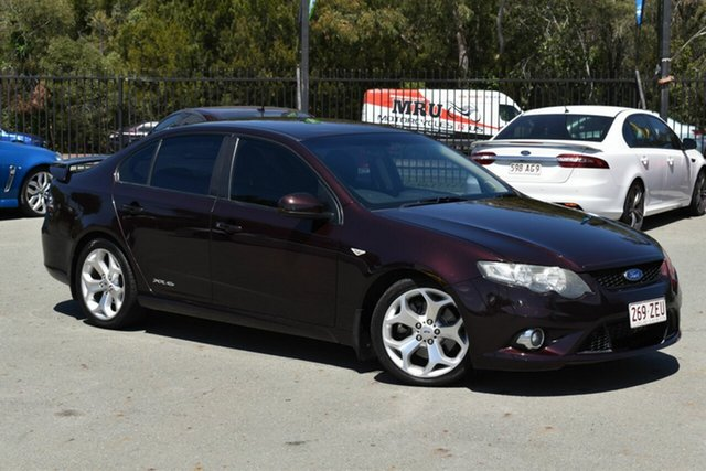 Used Ford Falcon FG XR6T Underwood, 2009 Ford Falcon FG XR6T Maroon 6 Speed Auto Seq Sportshift Sedan