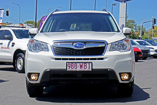 2015 Subaru Forester S4 MY15 2.0D-L CVT AWD White 7 Speed Constant Variable Wagon.