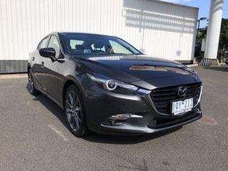 2016 Mazda 3 BM5238 SP25 SKYACTIV-Drive Astina Grey 6 Speed Sports Automatic Sedan.