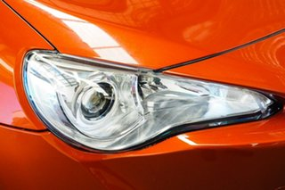 2012 Toyota 86 ZN6 GT Orange 6 Speed Auto Sequential Coupe