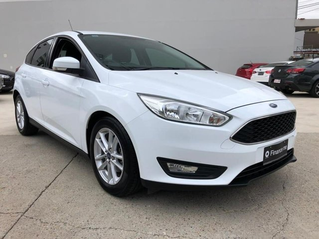 Used Ford Focus LZ Trend Goulburn, 2016 Ford Focus LZ Trend White 6 Speed Automatic Hatchback