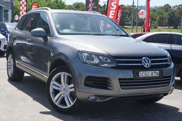 Used Volkswagen Touareg 7P MY14 V6 TDI Tiptronic 4MOTION Phillip, 2014 Volkswagen Touareg 7P MY14 V6 TDI Tiptronic 4MOTION Grey 8 Speed Sports Automatic Wagon