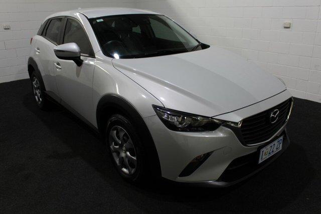 Used Mazda CX-3 DK2W7A Neo SKYACTIV-Drive Glenorchy, 2015 Mazda CX-3 DK2W7A Neo SKYACTIV-Drive White 6 Speed Sports Automatic Wagon
