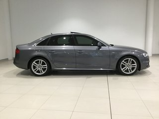 2013 Audi A4 B8 8K MY13 S Tronic Quattro Grey 7 Speed Sports Automatic Dual Clutch Sedan.