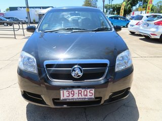 2011 Holden Barina Black Automatic Sedan