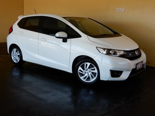 2016 Honda Jazz GK MY17 VTi LE White Continuous Variable Hatchback