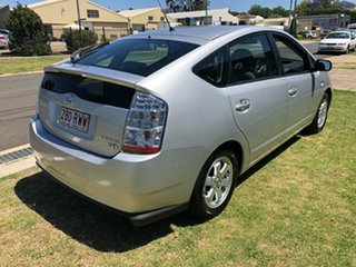 2008 Toyota Prius NHW20R MY06 Upgrade Hybrid Silver Continuous Variable Hatchback.