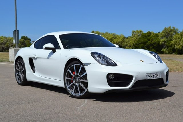 Used Porsche Cayman 981 MY16 PDK Mundingburra, 2015 Porsche Cayman 981 MY16 PDK White 7 Speed Sports Automatic Dual Clutch Coupe