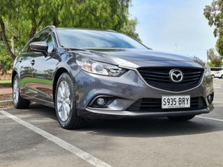 2017 Mazda 6 GL1031 Sport SKYACTIV-Drive Grey 6 Speed Sports Automatic Wagon.