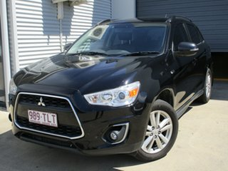 2013 Mitsubishi ASX XB MY13 Aspire Black 6 Speed Sports Automatic Wagon.