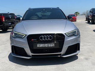 2017 Audi RS 3 8V MY18 Sportback S Tronic Quattro Silver 7 Speed Sports Automatic Dual Clutch
