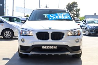 2014 BMW X1 E84 MY0314 sDrive18d White 8 Speed Sports Automatic Wagon