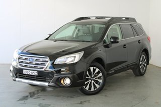 2015 Subaru Outback B6A MY15 2.5i CVT AWD Premium Black 6 Speed Constant Variable Wagon