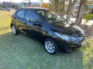 2013 Mazda 2 DE10Y2 MY13 Neo Black 5 Speed Manual Hatchback