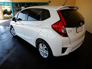 2016 Honda Jazz GK MY17 VTi LE White Continuous Variable Hatchback.