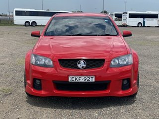 2011 Holden Commodore VE II SV6 Red 6 Speed Manual Sedan.