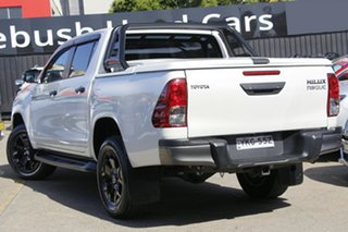 2020 Toyota Hilux GUN126R SR5 Double Cab White 6 Speed Sports Automatic Cab Chassis.