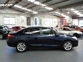 2012 Renault Fluence L38 MY12 Privilege Blue 6 Speed Constant Variable Sedan
