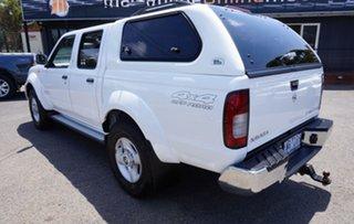 2012 Nissan Navara D22 S5 ST-R Polar White 5 Speed Manual Utility.
