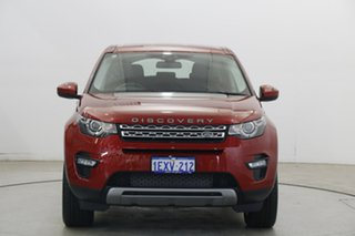 2015 Land Rover Discovery Sport L550 16MY HSE Deep Red 9 Speed Sports Automatic Wagon.