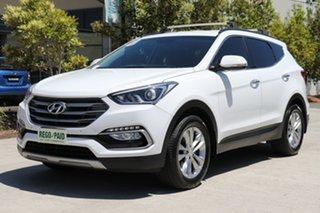 2016 Hyundai Santa Fe DM2 MY15 Elite White 6 speed Automatic Wagon.