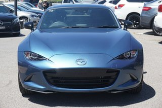 2019 Mazda MX-5 ND SKYACTIV-Drive Blue 6 Speed Sports Automatic Roadster.