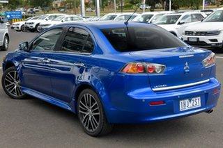 2016 Mitsubishi Lancer CF MY16 LS Blue 6 Speed Constant Variable Sedan.