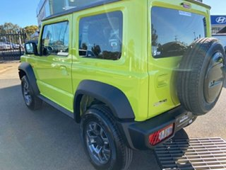 2020 Suzuki Jimny JB74 Yellow 4 Speed Automatic Hardtop.