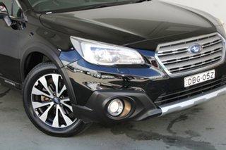 2015 Subaru Outback B6A MY15 2.5i CVT AWD Premium Black 6 Speed Constant Variable Wagon