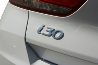2020 Hyundai i30 PD.V4 MY21 Polar White 6 Speed Sports Automatic Hatchback