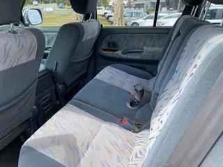 2001 Toyota Landcruiser Prado VZJ95R VX White 4 Speed Automatic Wagon