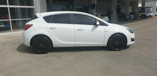 2013 Opel Astra AS Select White 6 Speed Manual Hatchback.