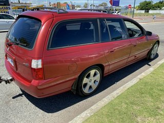 2006 Holden Commodore VZ MY06 SVZ Red 4 Speed Automatic Wagon