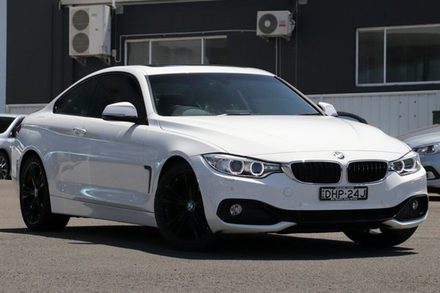 Used BMW 4 Series F32 428i Sport Line Brookvale, 2014 BMW 4 Series F32 428i Sport Line White 8 Speed Sports Automatic Coupe
