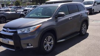 2014 Toyota Kluger GSU55R GXL AWD Grey 6 Speed Sports Automatic Wagon