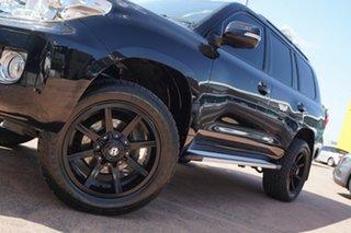 2012 Toyota Landcruiser VDJ200R MY12 Altitude (4x4) Black 6 Speed Automatic Wagon.