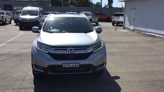 2017 Honda CR-V RW MY18 VTi-LX 4WD Silver 1 Speed Constant Variable Wagon.