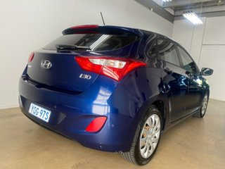 2012 Hyundai i30 GD Active Blue 6 Speed Automatic Hatchback.