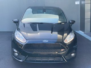 2015 Ford Fiesta WZ MY15 ST Black 6 Speed Manual Hatchback.