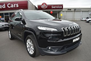 2019 Jeep Cherokee KL MY19 Longitude Black 9 Speed Sports Automatic Wagon.