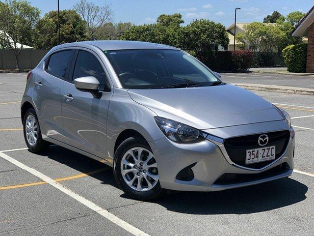 Used Mazda 2 DJ2HAA Maxx SKYACTIV-Drive Chermside, 2017 Mazda 2 DJ2HAA Maxx SKYACTIV-Drive Grey 6 Speed Sports Automatic Hatchback