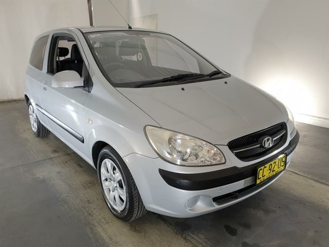Used Hyundai Getz TB MY09 S Maryville, 2010 Hyundai Getz TB MY09 S Silver 5 Speed Manual Hatchback