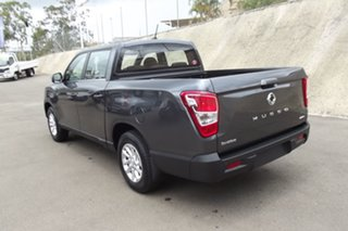 2020 Ssangyong Musso Q201 MY20.5 ELX Crew Cab XLV Grey 6 Speed Sports Automatic Utility.