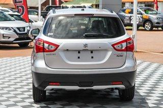 2020 Suzuki S-Cross JY Turbo Silky Silver 6 Speed Sports Automatic Hatchback.