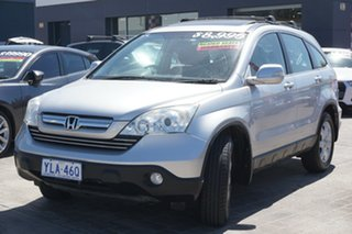 2007 Honda CR-V RE MY2007 Luxury 4WD Silver 6 Speed Manual Wagon.