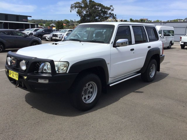 Used Nissan Patrol GU 5 MY07 DX Cardiff, 2007 Nissan Patrol GU 5 MY07 DX White 4 Speed Automatic Wagon